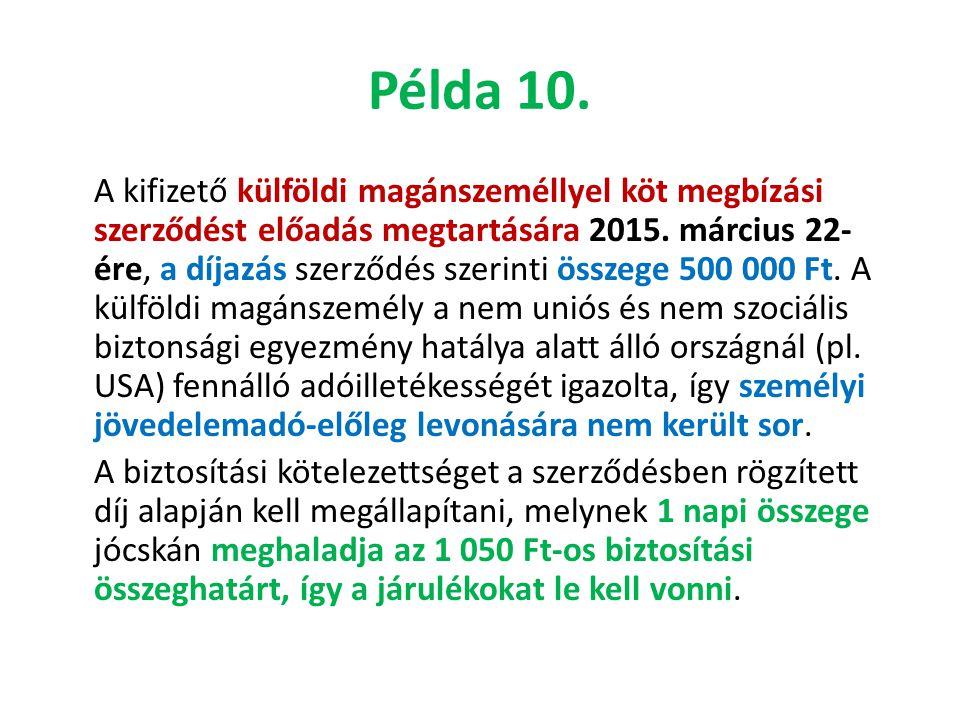 Példa 10.