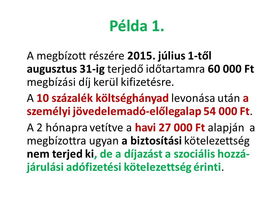 Példa 1.