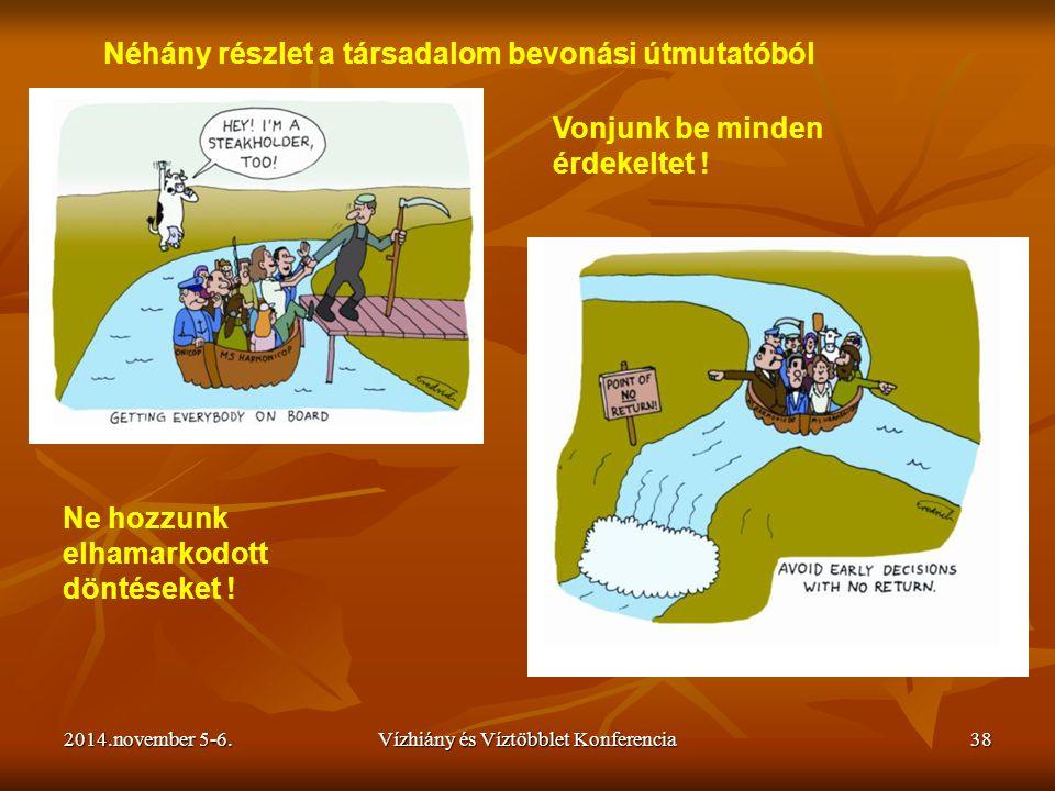 Vízhiány és Víztöbblet Konferencia