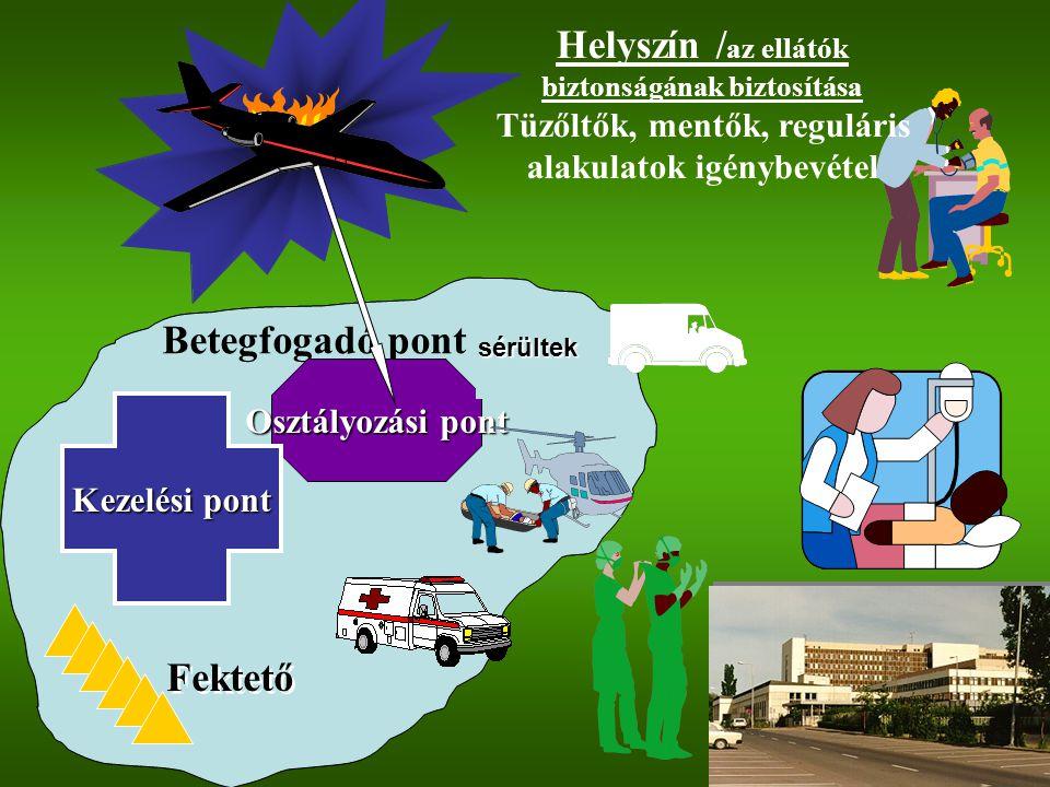 Helyszín /az ellátók biztonságának biztosítása