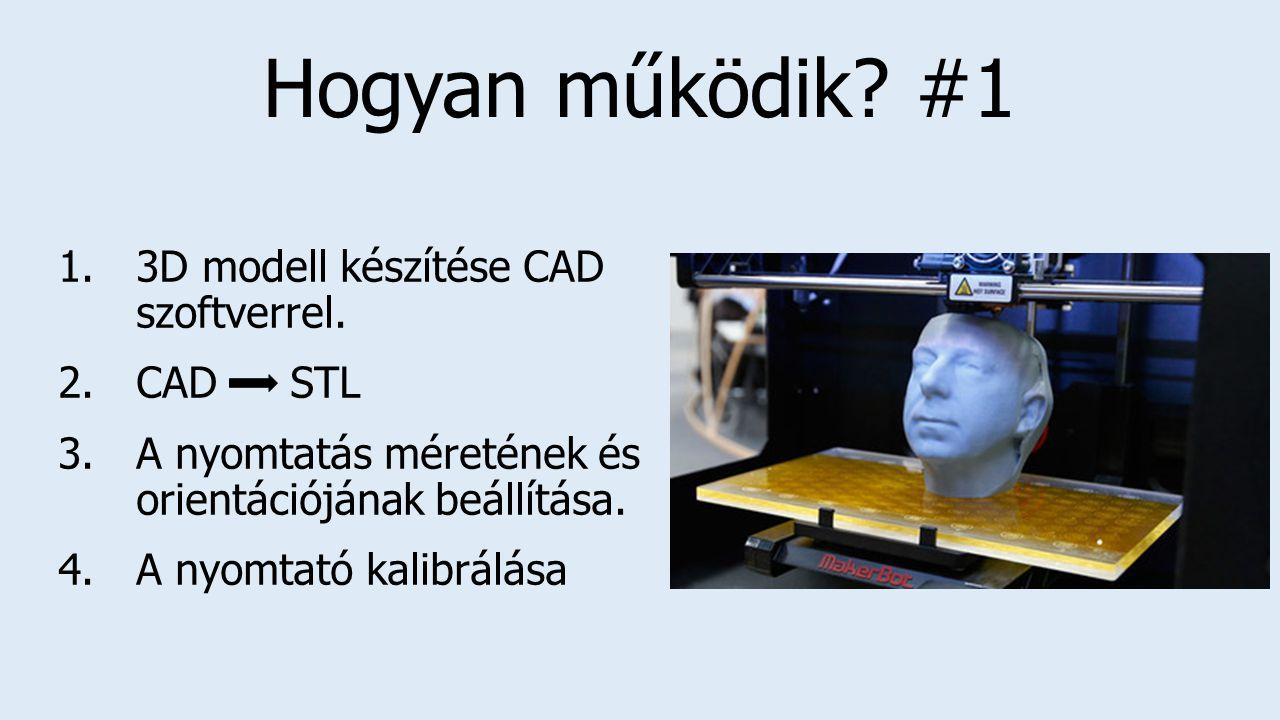 Hogyan működik #1 3D modell készítése CAD szoftverrel. CAD STL