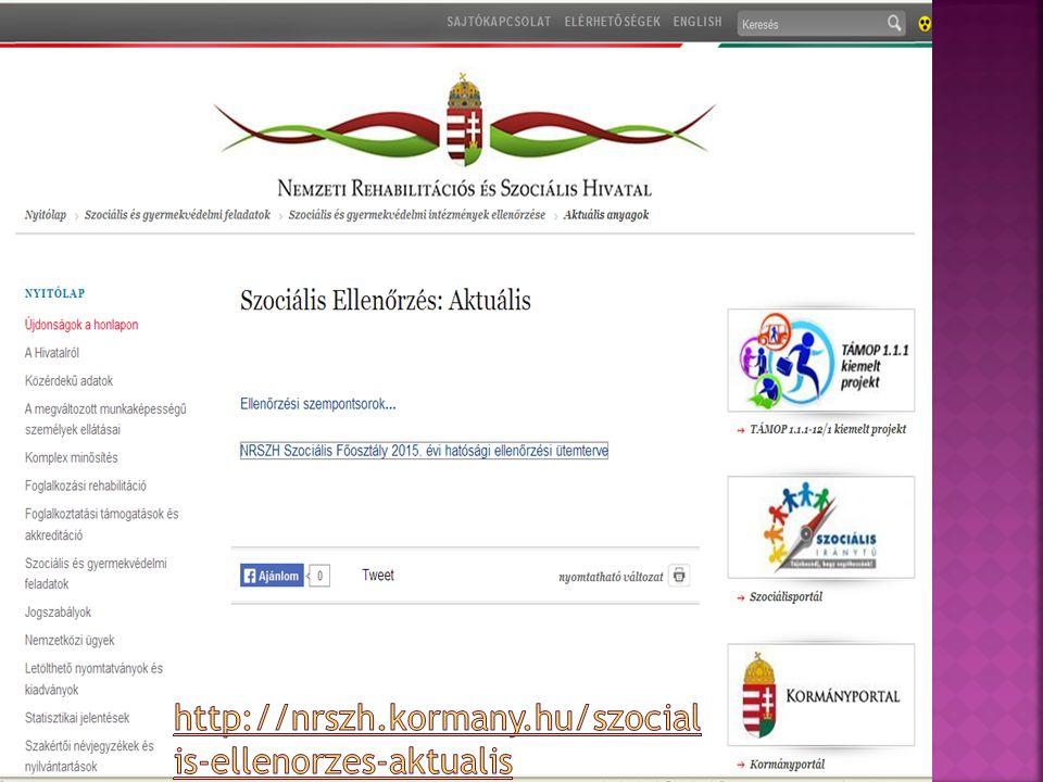 http://nrszh.kormany.hu/szocialis-ellenorzes-aktualis