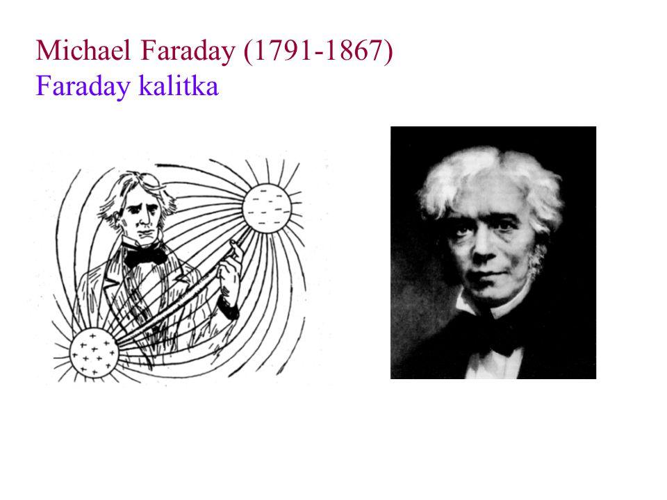 Michael Faraday (1791-1867) Faraday kalitka
