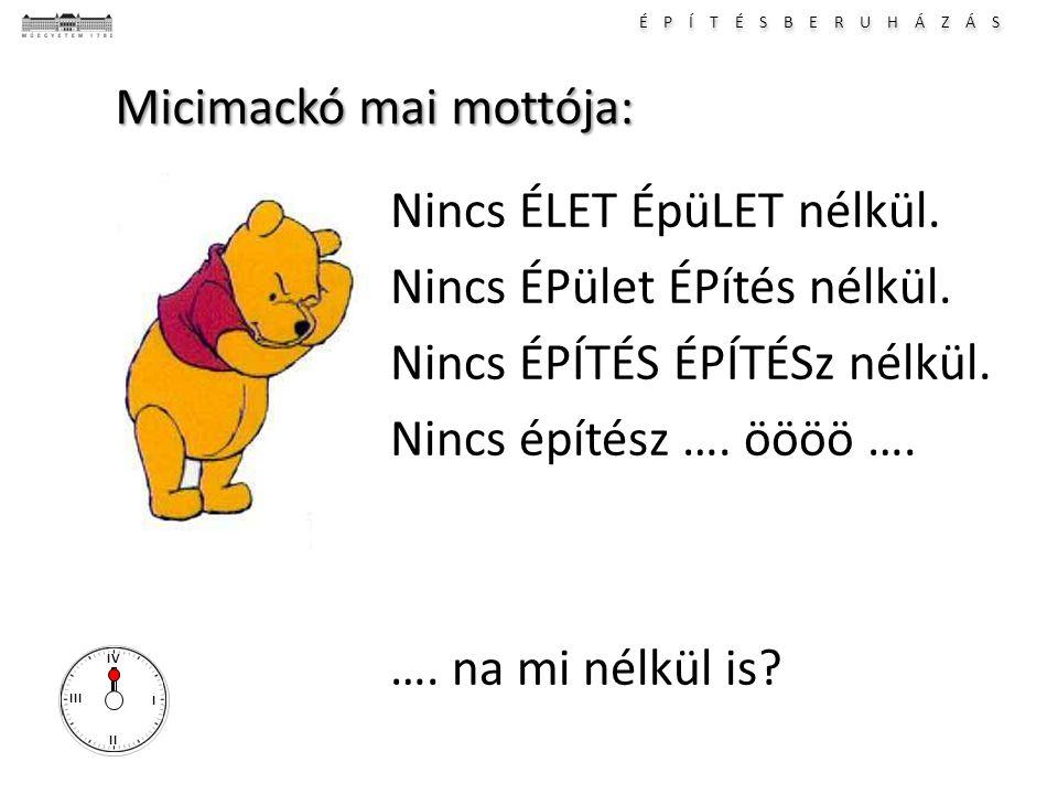 Micimackó mai mottója: