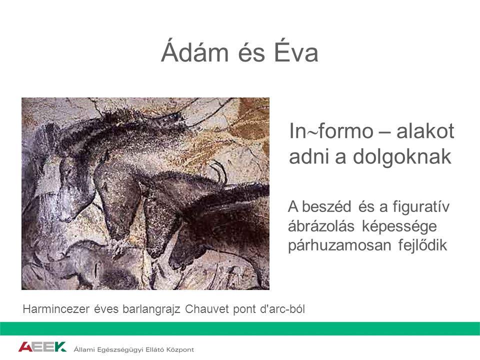 Ádám és Éva Informo – alakot adni a dolgoknak