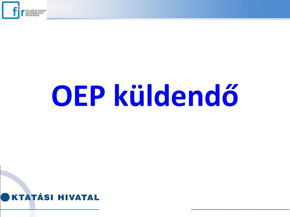 OEP küldendő