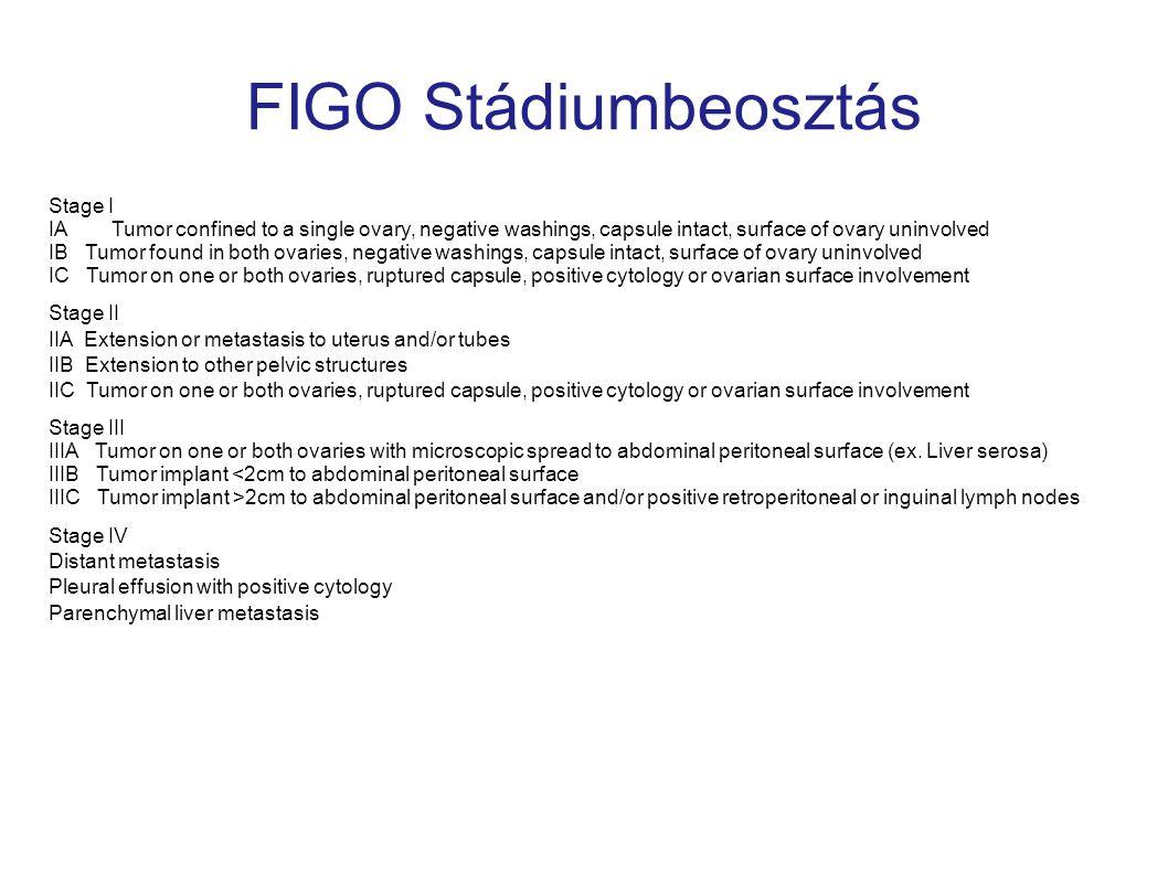 FIGO Stádiumbeosztás Stage I