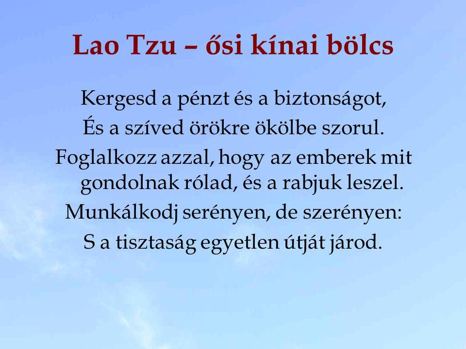 Lao Tzu – ősi kínai bölcs