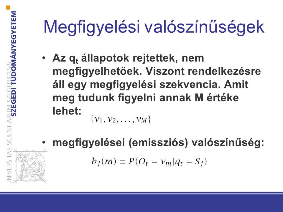 Rejtett Markov Modellek