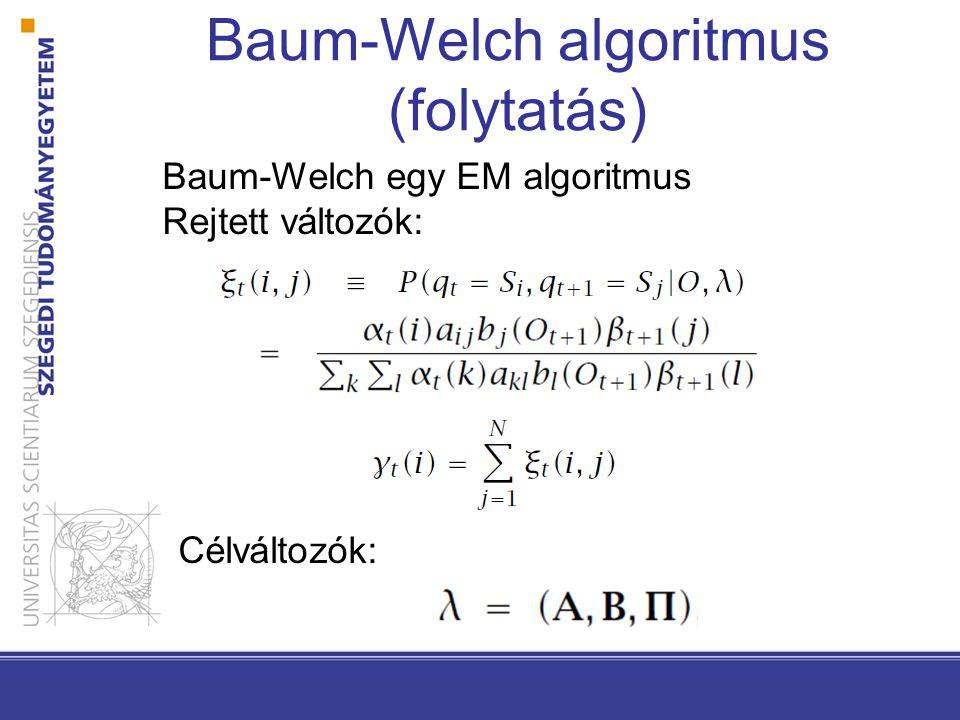 Baum-Welch algoritmus