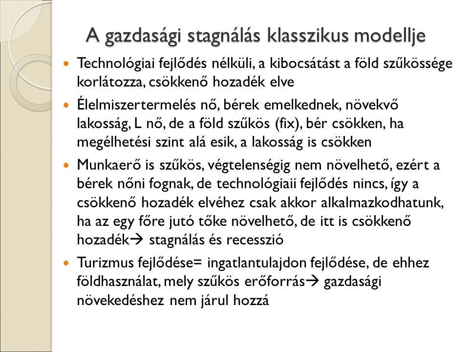 A gazdasági stagnálás klasszikus modellje