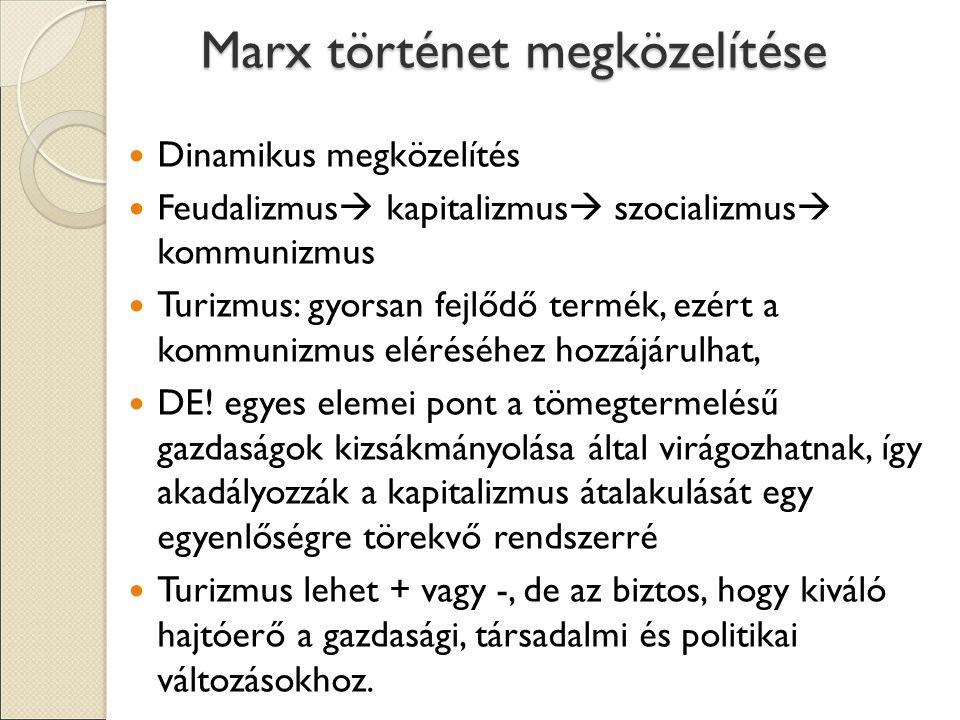 Marx történet megközelítése