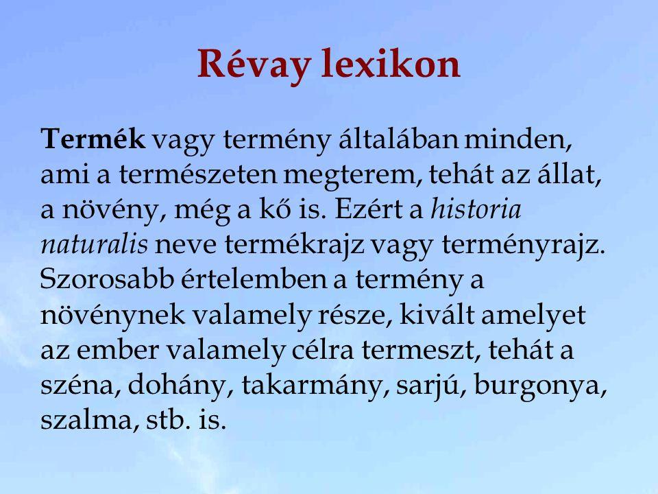 Révay lexikon