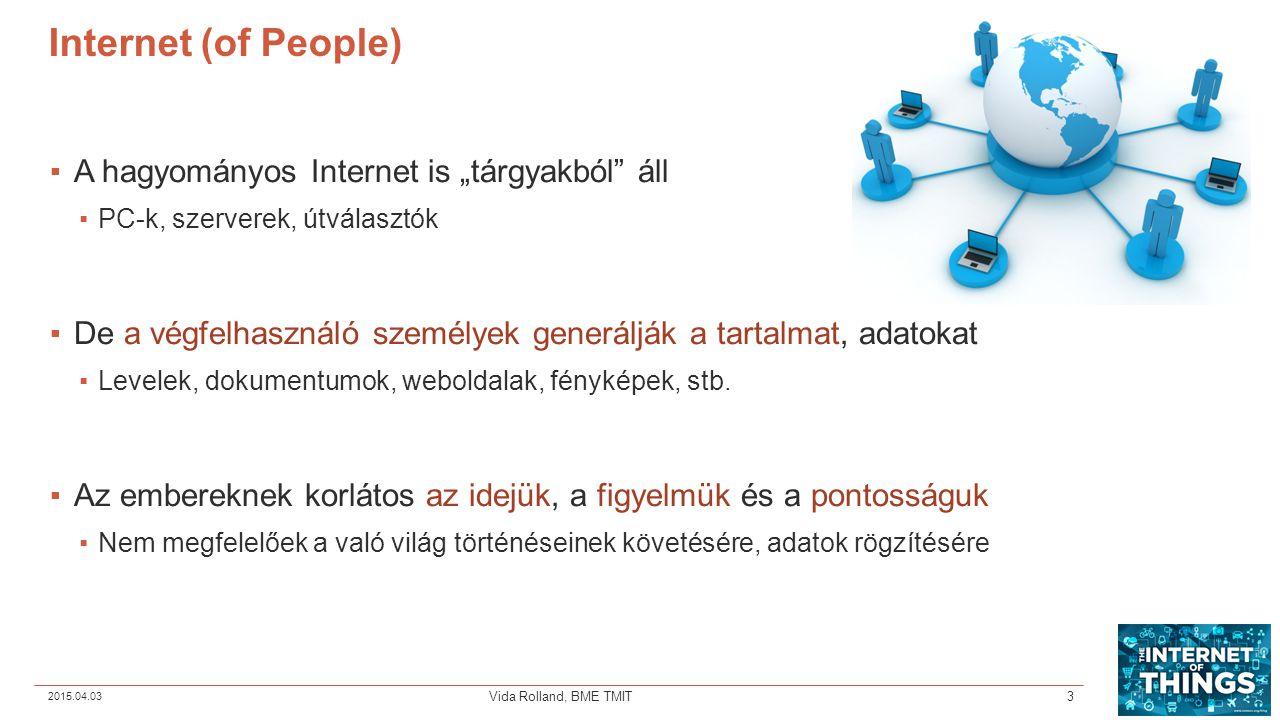 """Internet (of People) A hagyományos Internet is """"tárgyakból áll"""