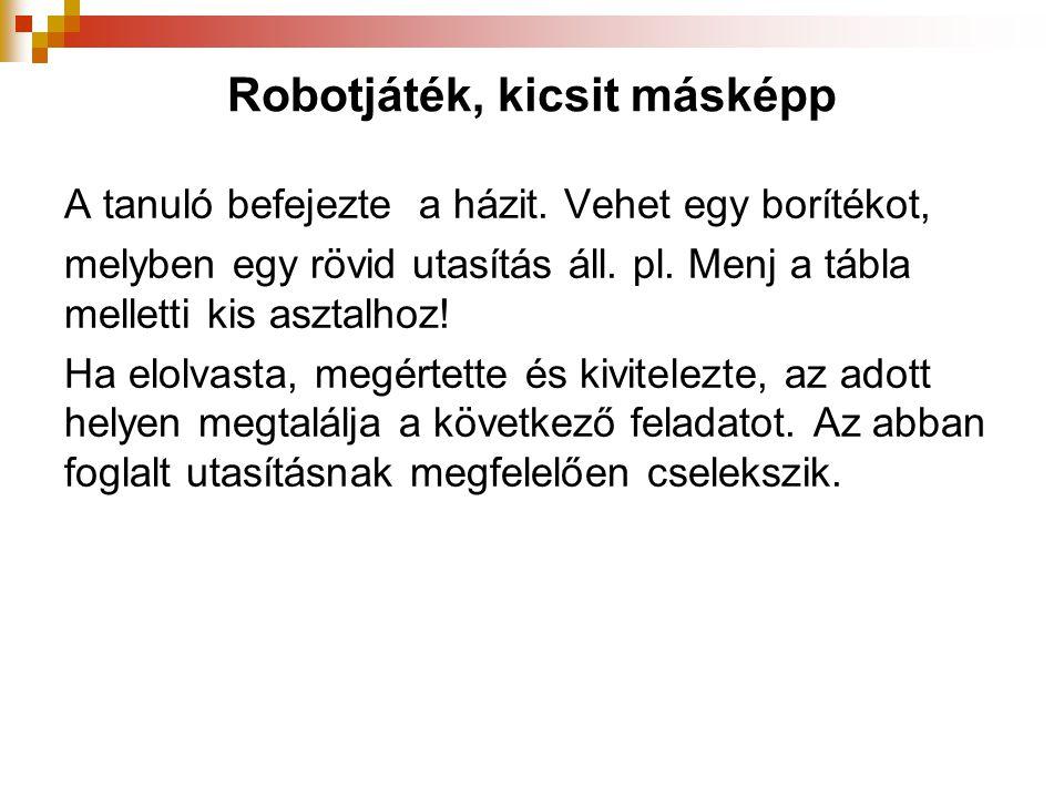 Robotjáték, kicsit másképp