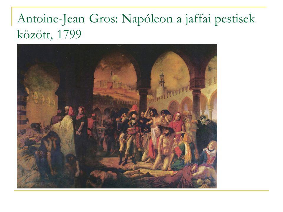 Antoine-Jean Gros: Napóleon a jaffai pestisek között, 1799