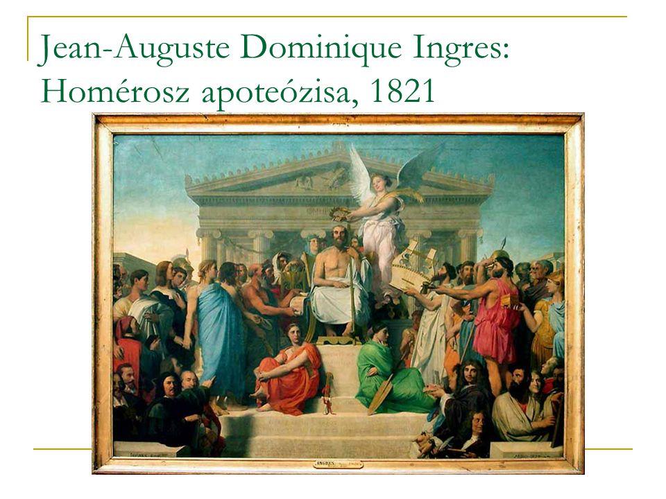 Jean-Auguste Dominique Ingres: Homérosz apoteózisa, 1821