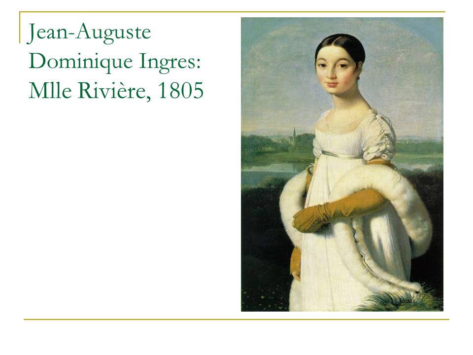 Jean-Auguste Dominique Ingres: Mlle Rivière, 1805