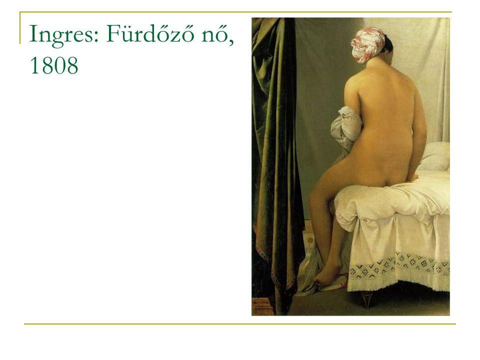 Ingres: Fürdőző nő, 1808