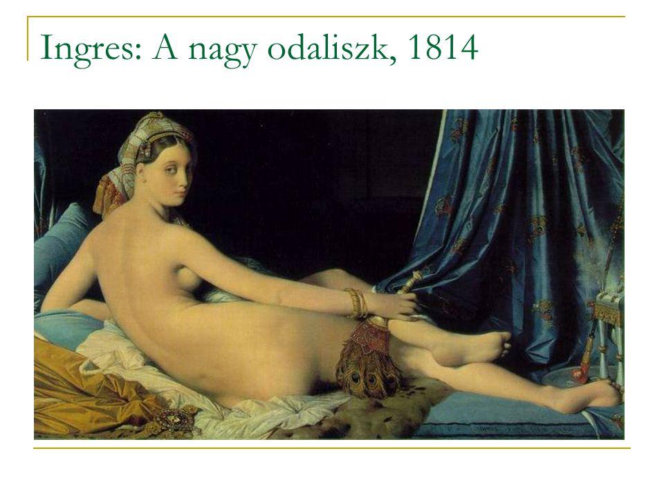 Ingres: A nagy odaliszk, 1814