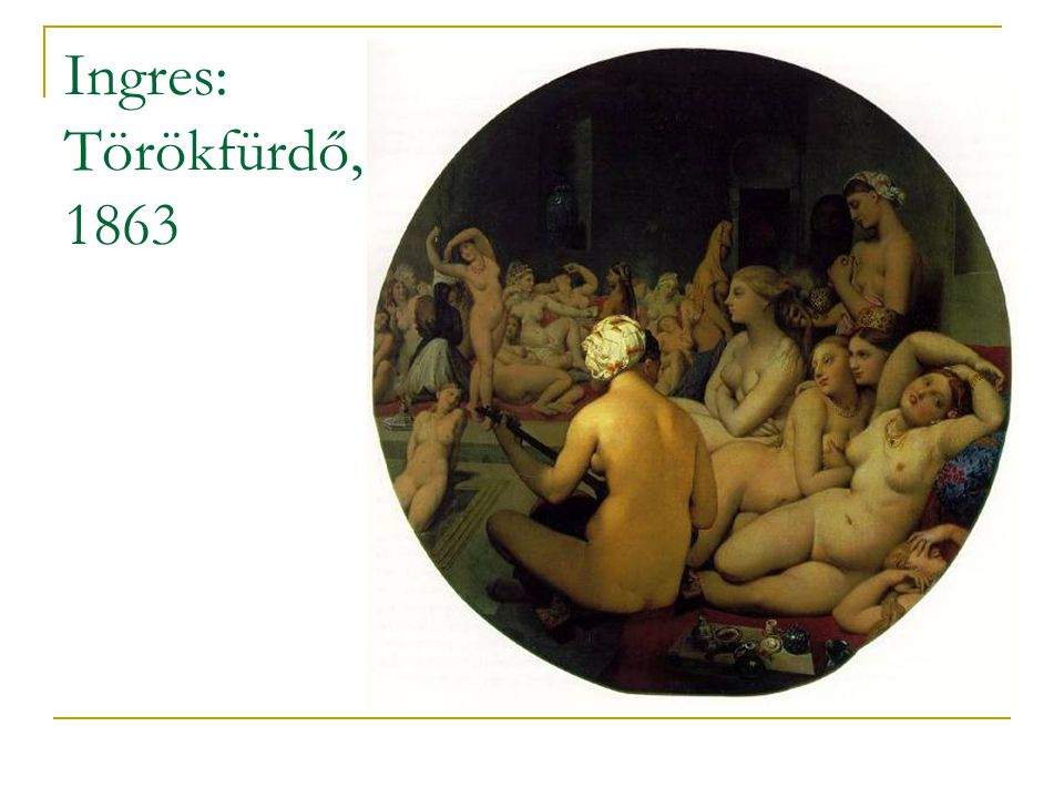 Ingres: Törökfürdő, 1863