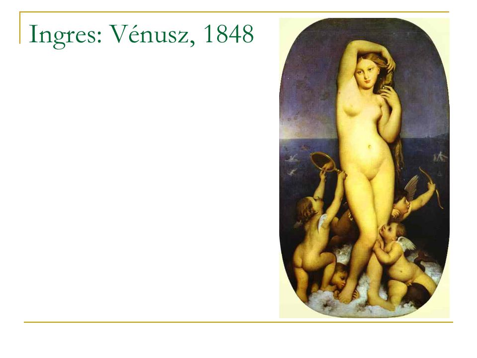 Ingres: Vénusz, 1848