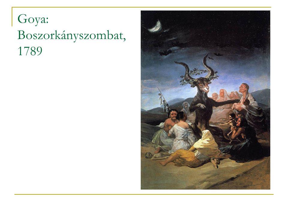 Goya: Boszorkányszombat, 1789