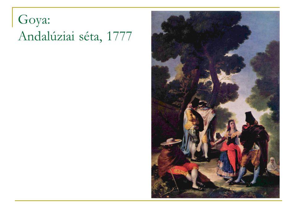 Goya: Andalúziai séta, 1777