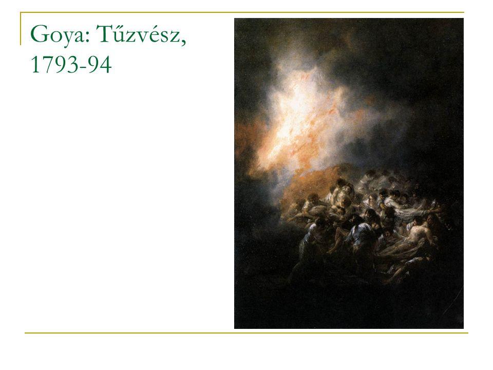 Goya: Tűzvész, 1793-94
