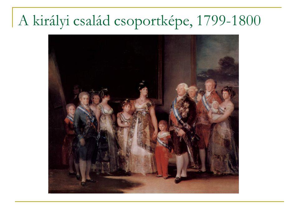 A királyi család csoportképe, 1799-1800