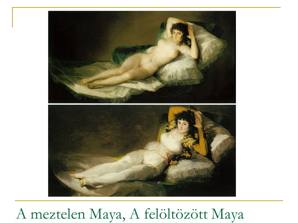 A meztelen Maya, A felöltözött Maya