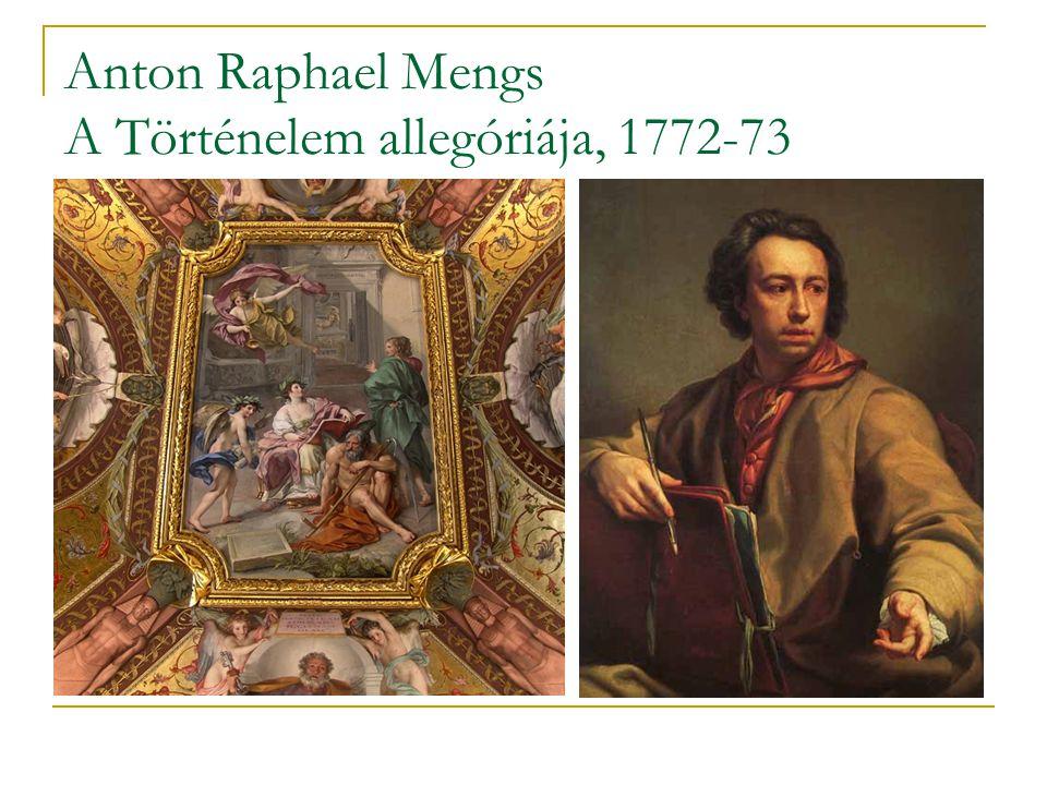 Anton Raphael Mengs A Történelem allegóriája, 1772-73