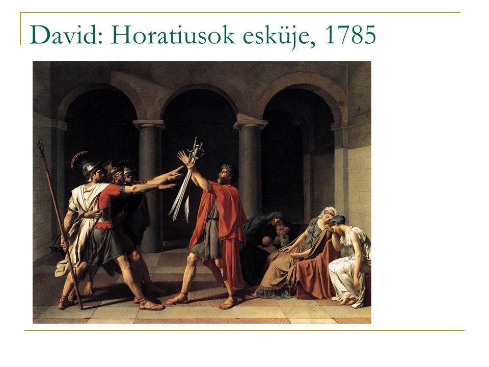 David: Horatiusok esküje, 1785