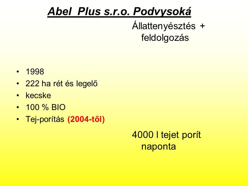 Abel Plus s.r.o. Podvysoká