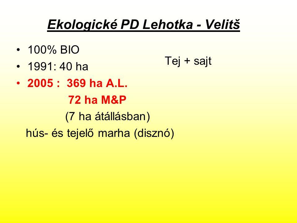 Ekologické PD Lehotka - Velitš