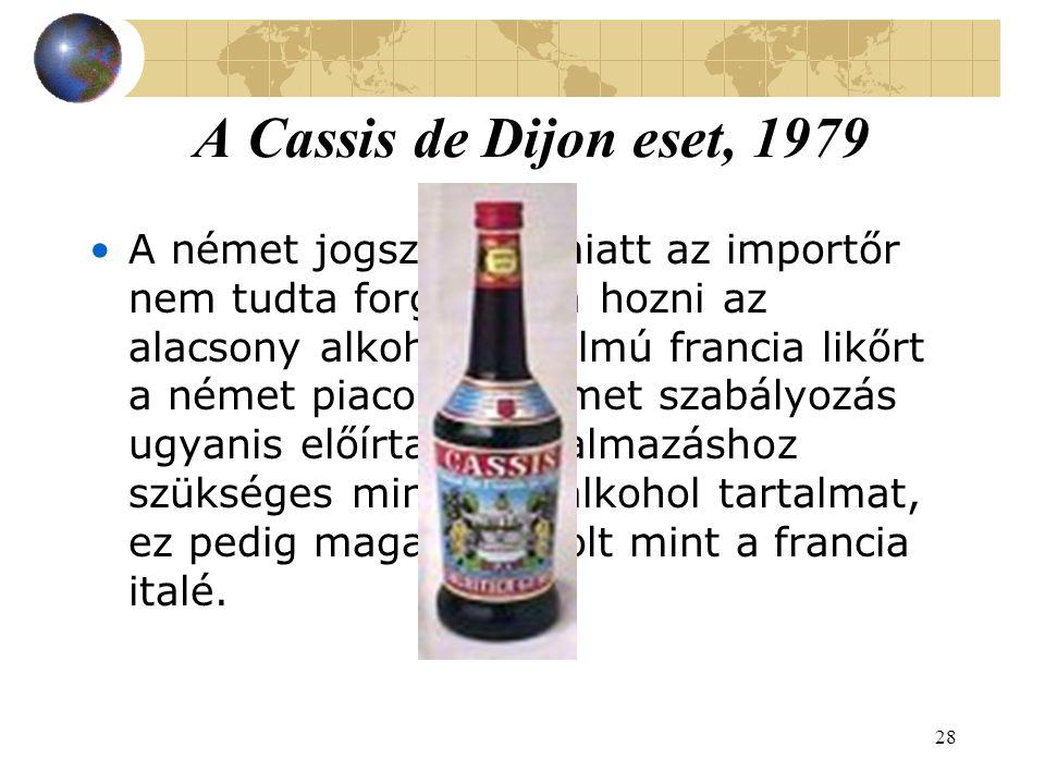 A Cassis de Dijon eset, 1979