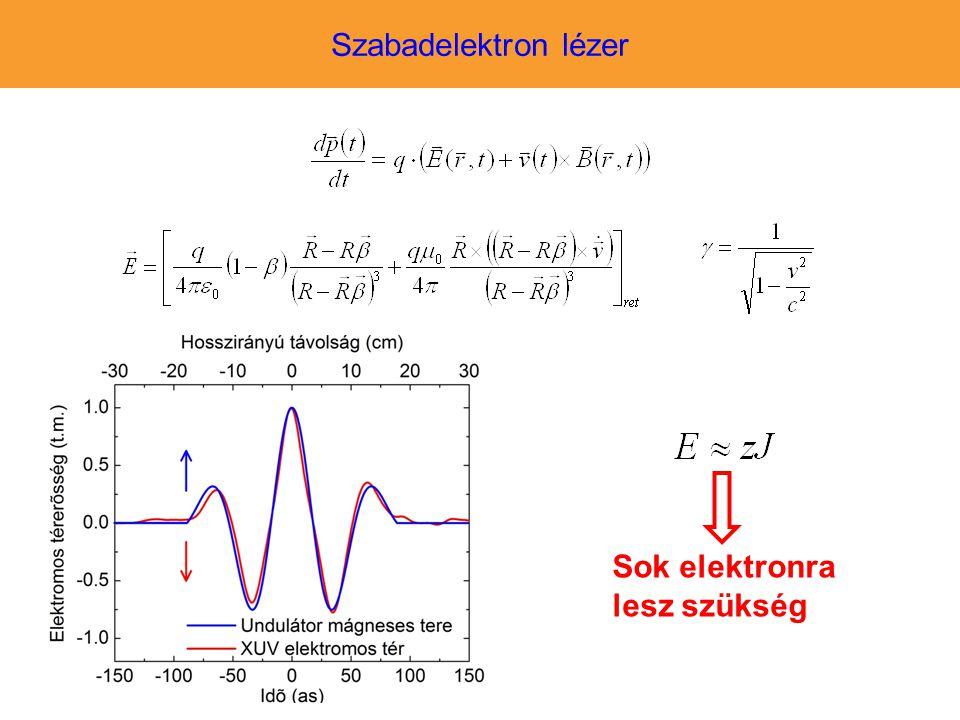 Sok elektronra lesz szükség