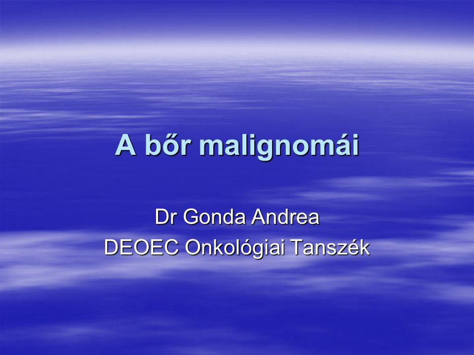 Dr Gonda Andrea DEOEC Onkológiai Tanszék