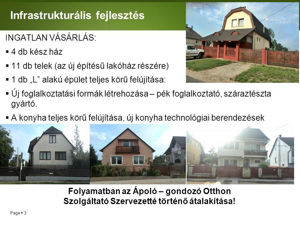 Infrastrukturális fejlesztés