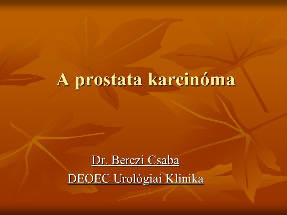 Dr. Berczi Csaba DEOEC Urológiai Klinika