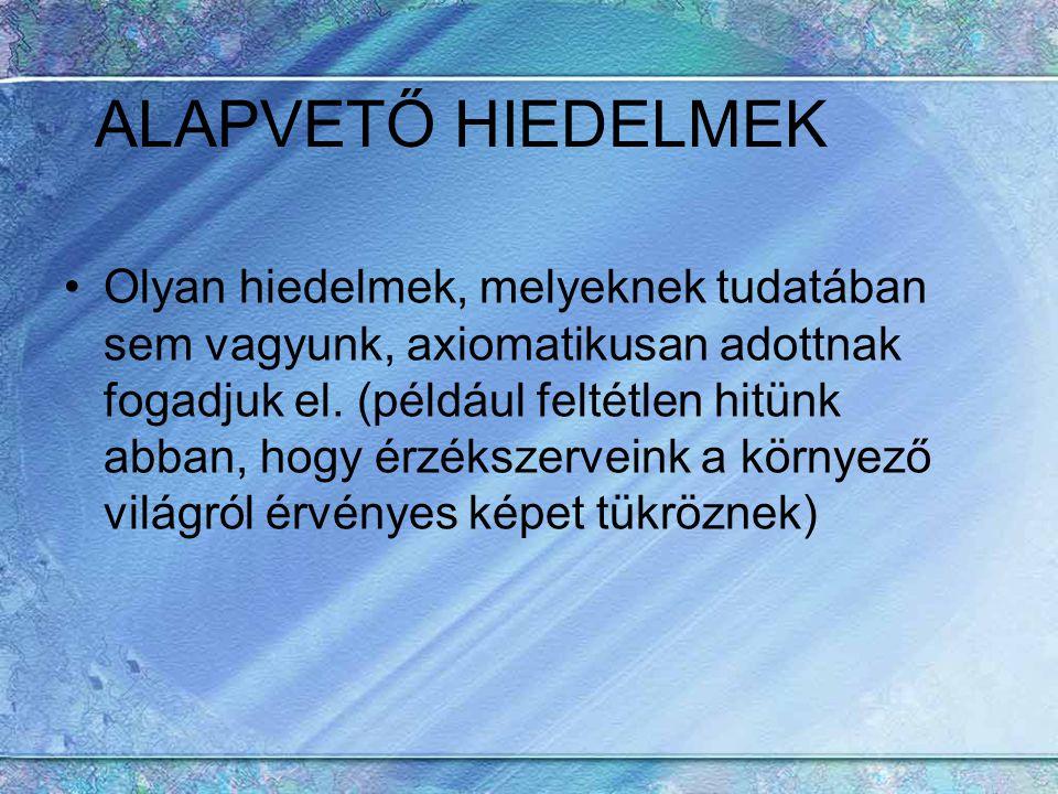 ALAPVETŐ HIEDELMEK