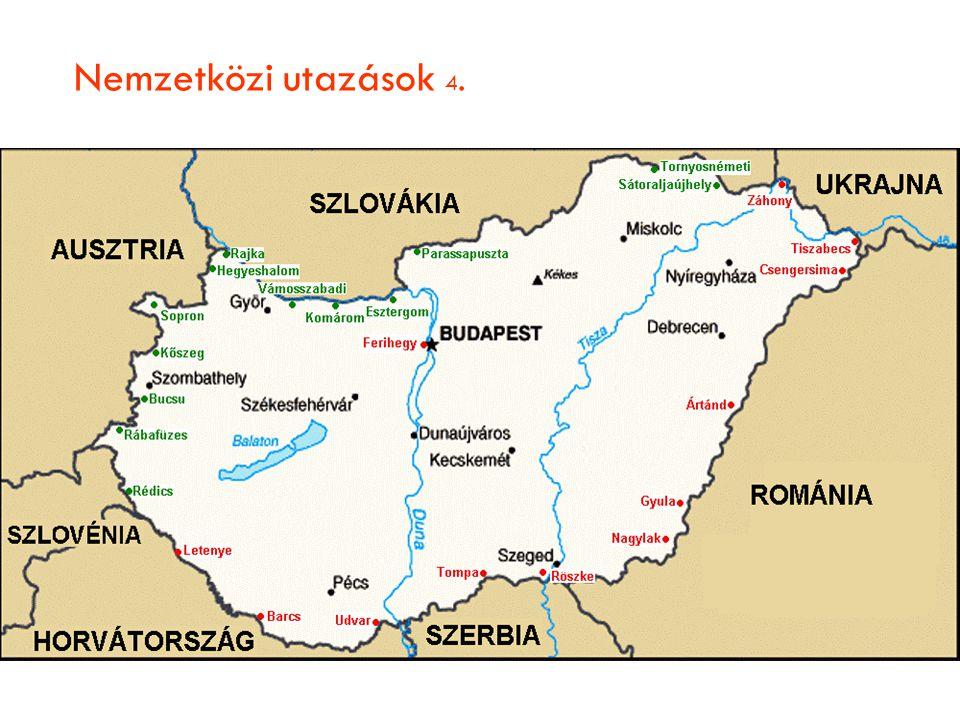 Nemzetközi utazások 4.