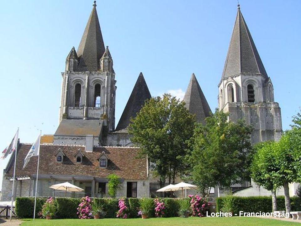 Loches - Franciaország