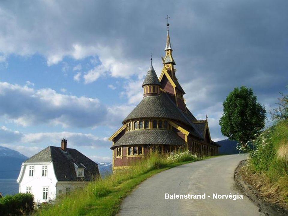 Balenstrand - Norvégia