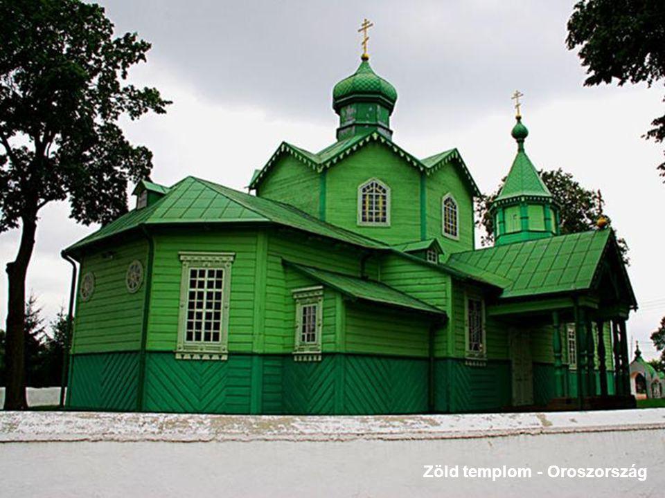 Zöld templom - Oroszország