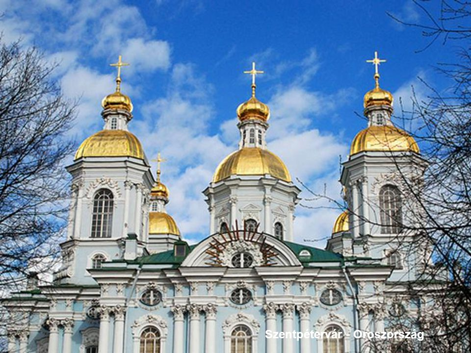 Szentpétervár - Oroszország