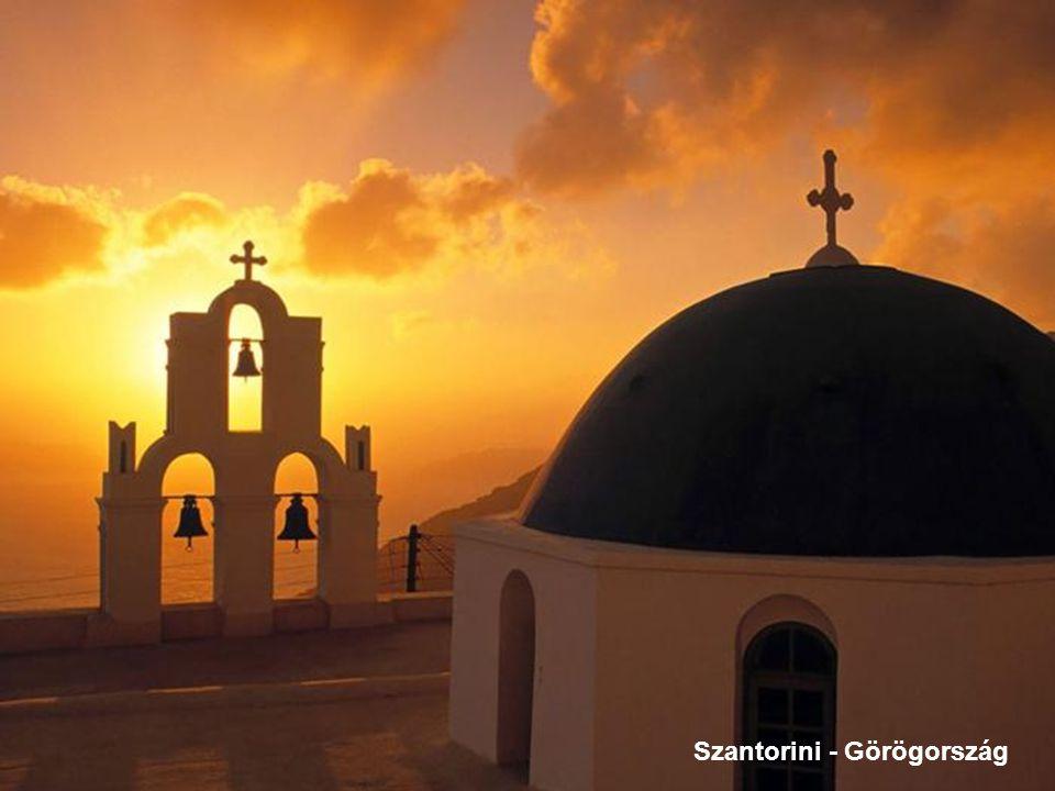 Szantorini - Görögország
