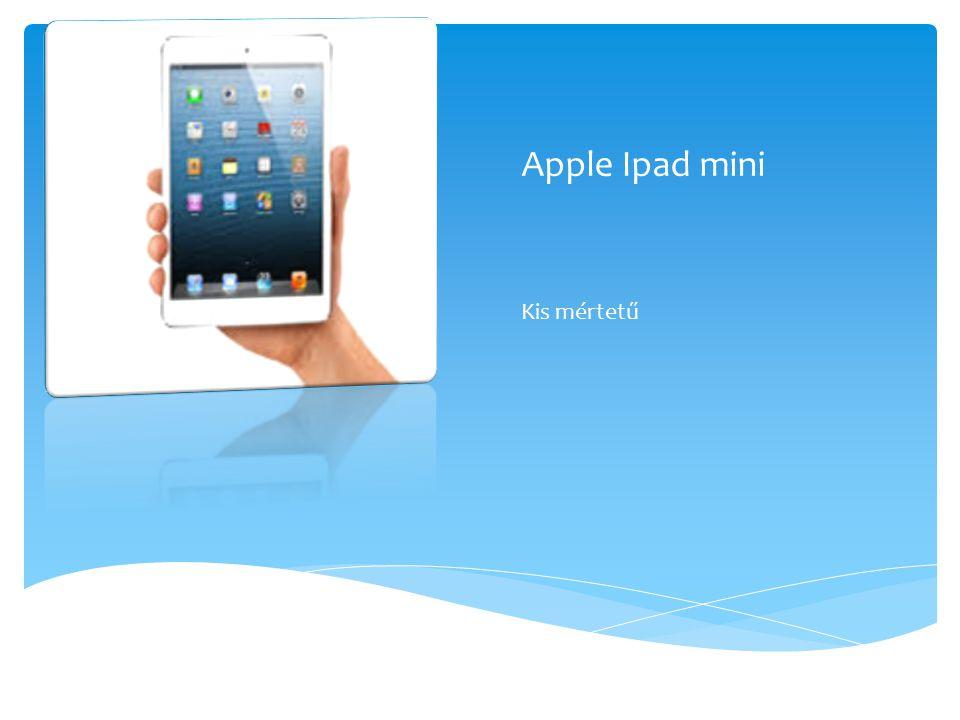 Apple Ipad mini Kis mértetű