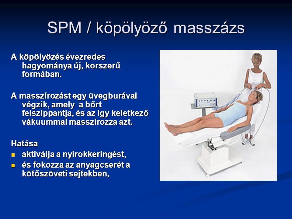 SPM / köpölyöző masszázs