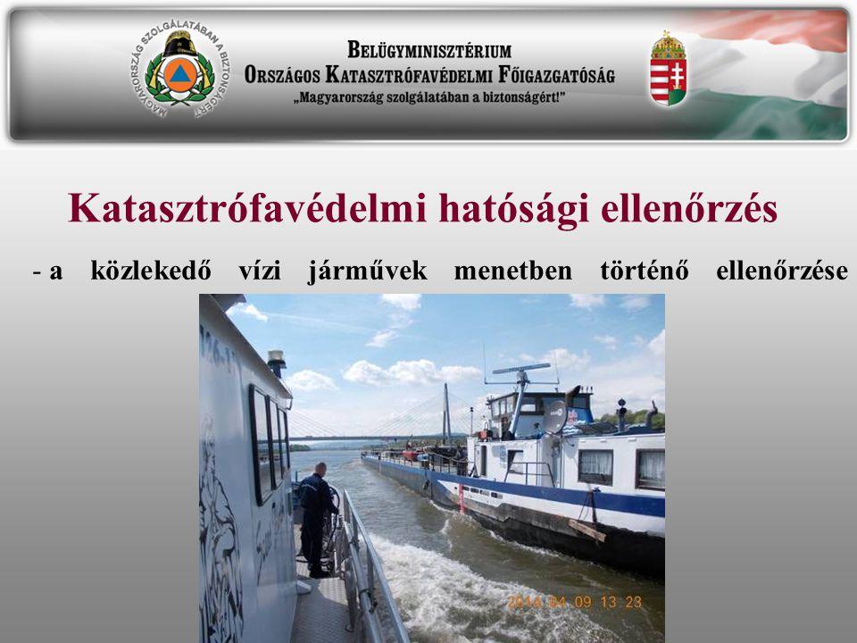 Katasztrófavédelmi hatósági ellenőrzés
